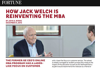 Jack Welch Signature