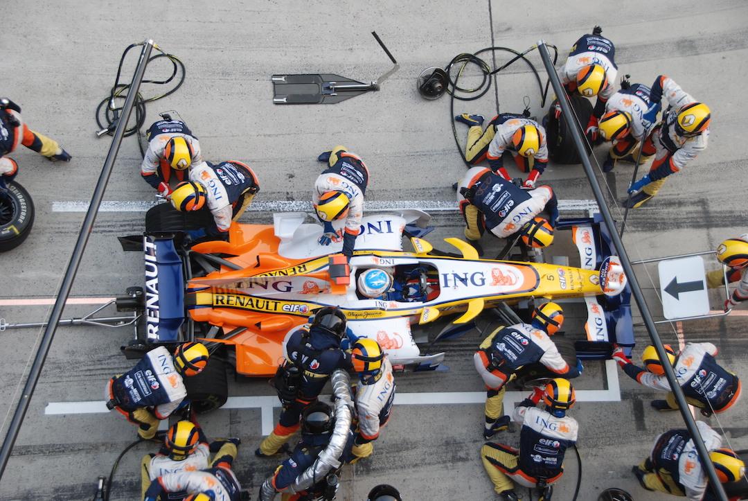 Pit, crew, race, car