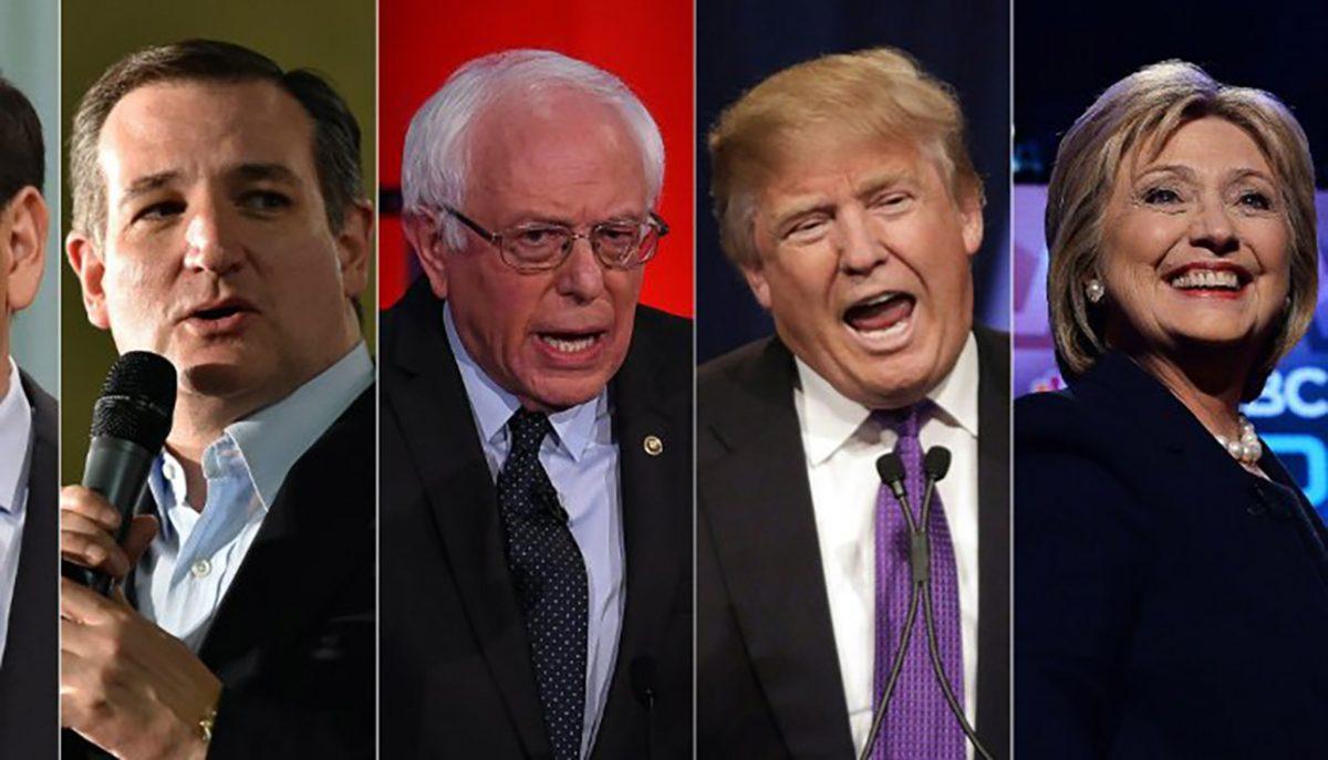 Trump, Donald Trump, Hillary Clinton, Bernie Sanders