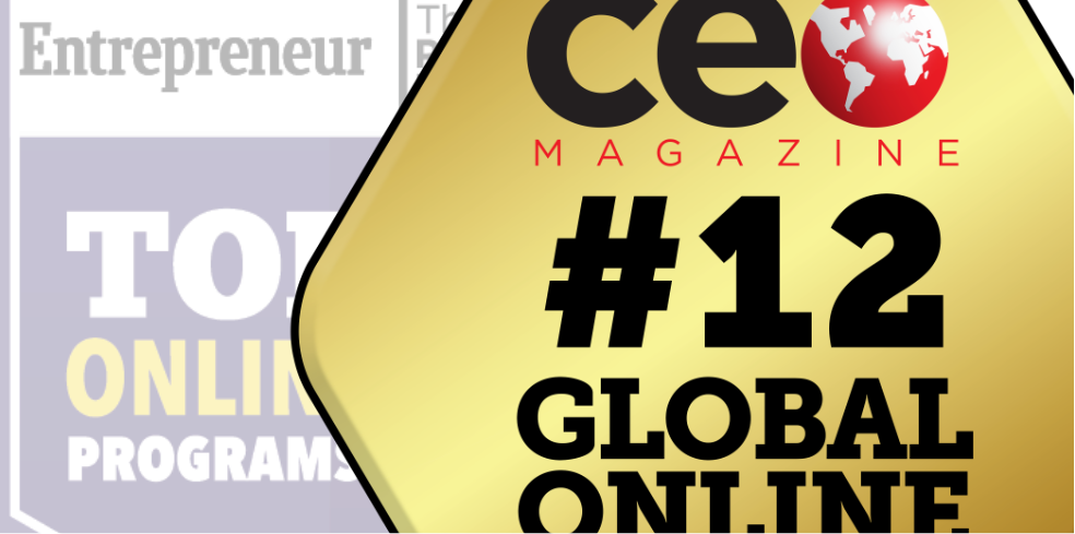 Ceo Magazine Ranks Jwmi A Top Online Mba Again Jack Welch Mba