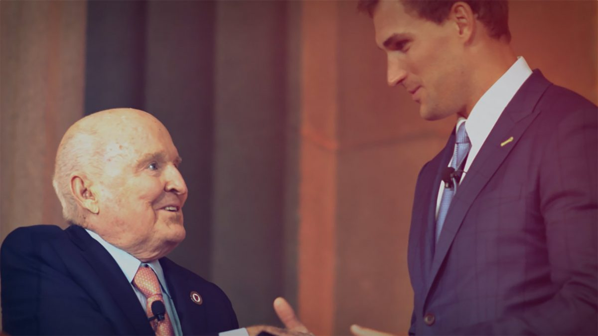 Jack Welch and Kirk Cousins