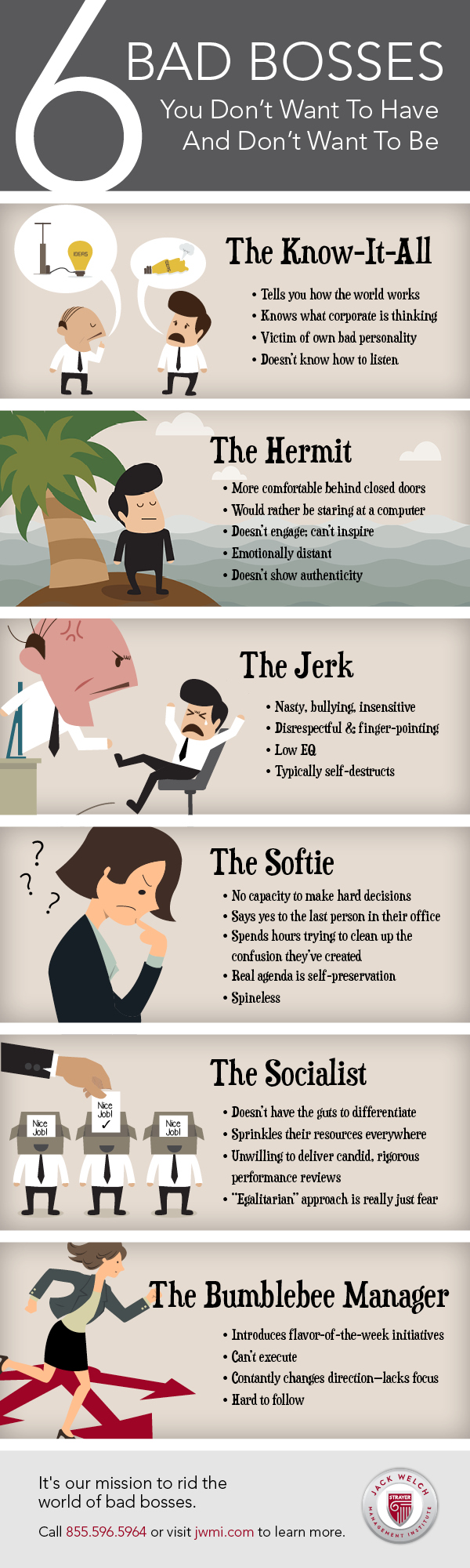 6 Types of Bad Bosses