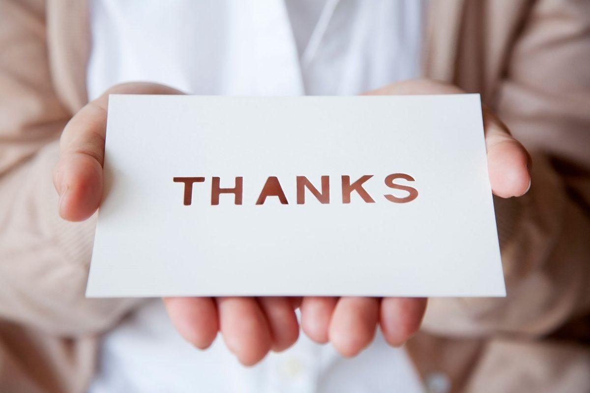 Gratitude, Thanksgiving, Jack and Suzy Welch, JMWI staff