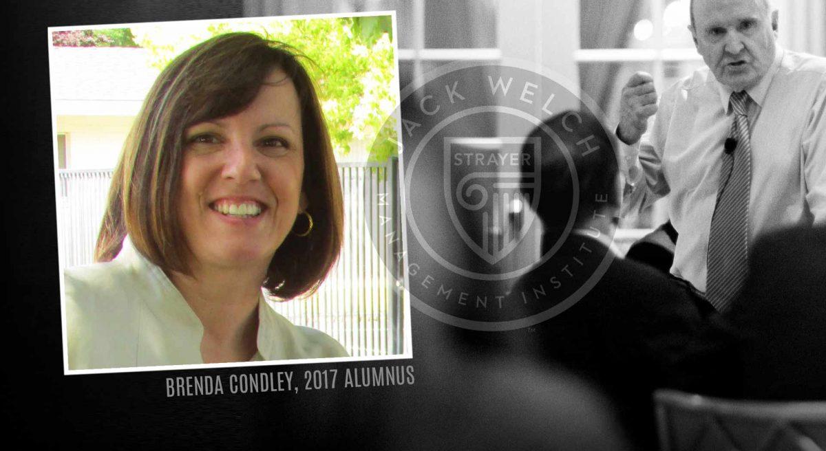 Jack Welch MBA, Brenda Condley
