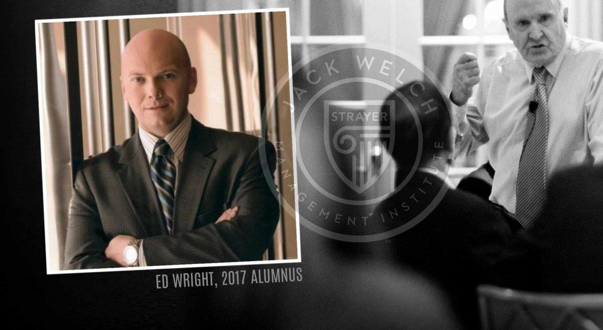 Jack Welch MBA, Ed Wright