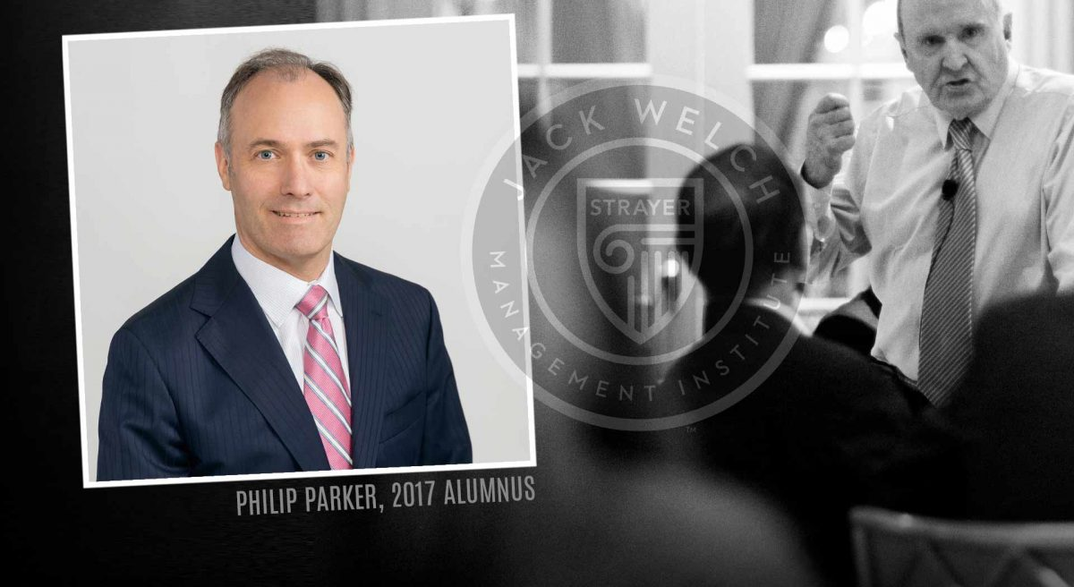 Jack Welch and Philip Parker, Jack Welch MBA logo